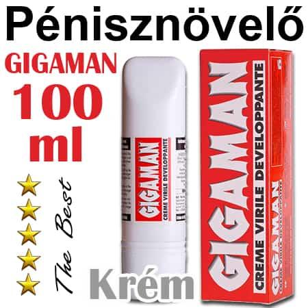 gigaman pénisznövelő