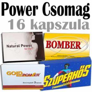 Power – Potencianövelő csomag / Ingyenes szállítással