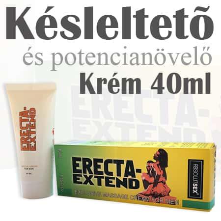 Erecta Extend – Késleltető és potencianövelő krém – 40ml