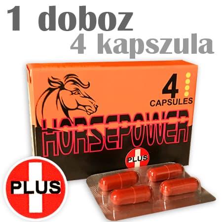 horse power plus potencianövelő kapszula