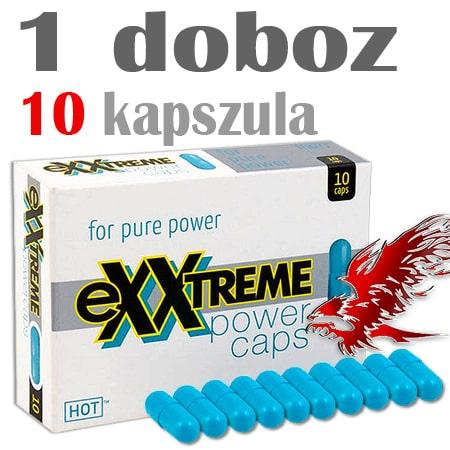 exxtreme power potencianövelő kapszuéa