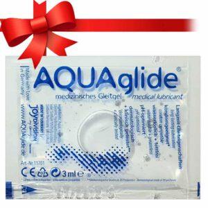 AQUA glide– síkosító 3ml (Ajándék)