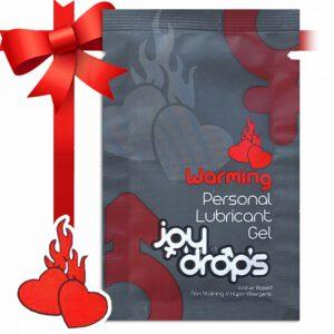 WARMING -Forrósító és síkosító a Joy Drops-tól – Nőknek és Férfiaknak – 5ml (Ajándék)