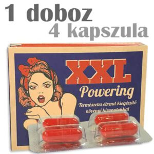 xxl powering potencianövelő kapszula - új