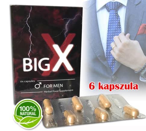 big x for men potencianövelő