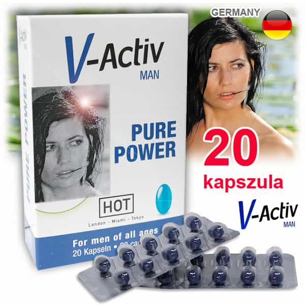 V-Activ Man potencianövelő 20 kapszula