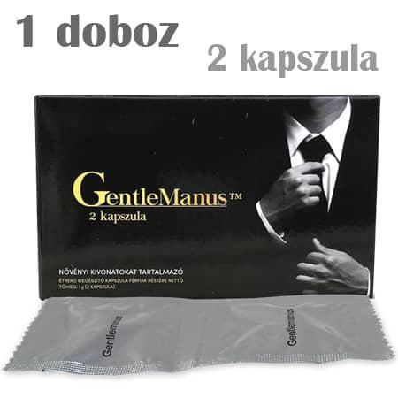 Gentlemanus potencianövelő 2 kapszula